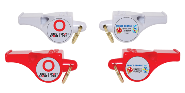 Canada Games Whistle