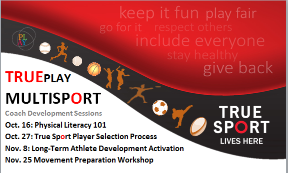 Free Coach Development Workshops Poster