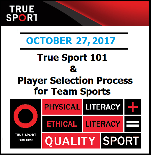True Sport Player Selection Guide