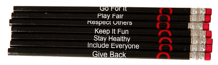 Image of Pencils – True Sport Principles