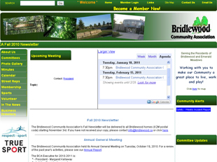 Bridlewood web site