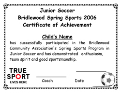 Bridlewood Spring Sports