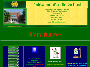 Dalewood Middle School web site