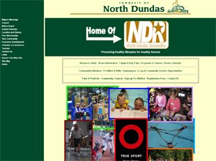 Town of North Dundas web site