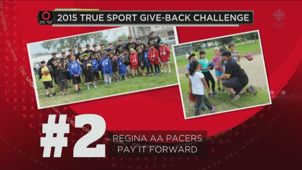 Give Back Finalists - Regina Pacers