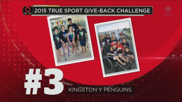 Kingston Y Penguins Give Back
