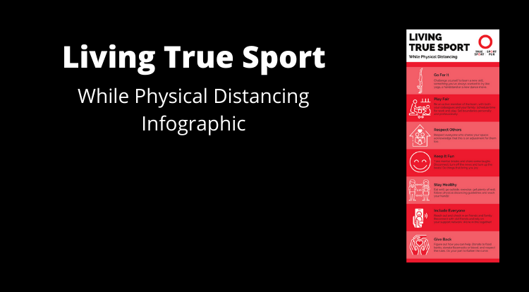 Living True Sport While Physical Distancing
