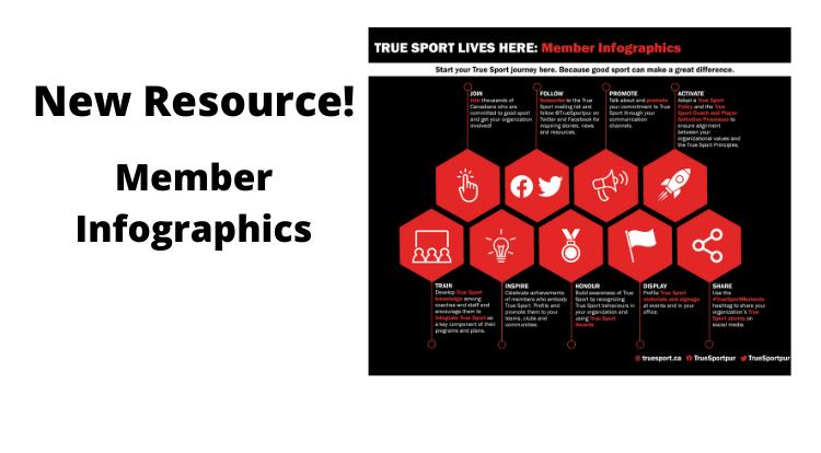 True Sport Member Infographics